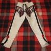 Spodnie góralskie - wzór D - używane