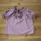 Bluzka haftowana – wzór D8