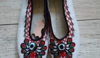 Pantofle z sukna r.36-39