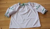 Bluzka haftowana - wzór E1