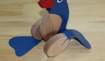 Pingwin ruchomy - z kijem do pchania