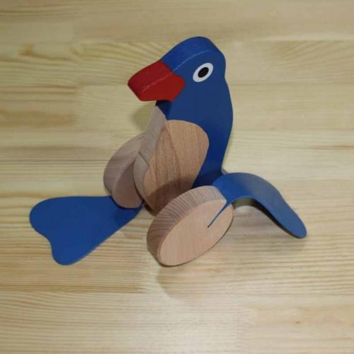 Pingwin ruchomy – z kijem do pchania