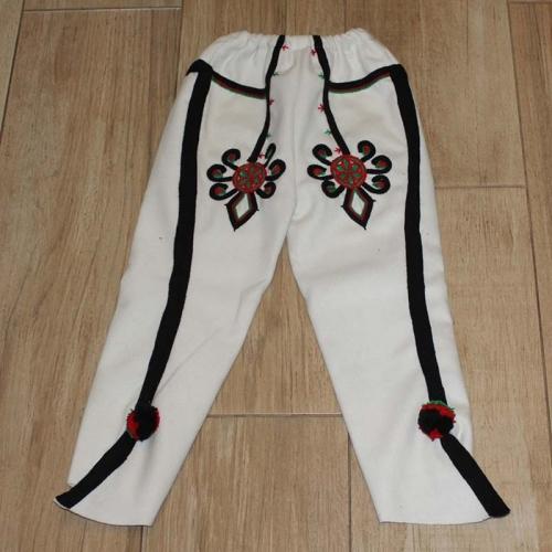 Spodnie góralskie chłopięce