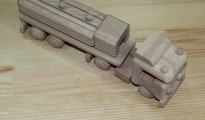 Tir drewniany do pomalowania
