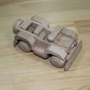 Kabriolet drewniany do pomalowania
