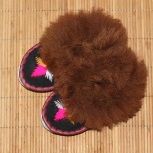 Pantofle z futerkiem r.35-41