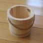 Wiaderko drewniane
