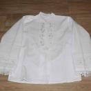 Koszula męska, lniana, biała, juhaska – rodzaj II