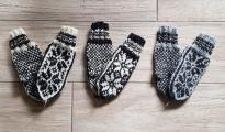 Rękawiczki góralskie (wzór-III)