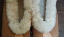Pantofle góralskie r.36-39 - brązowe