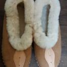 Pantofle góralskie r.36-39 – brązowe