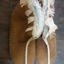 Pantofle góralskie r.36-39 – brązowe II