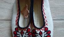 Pantofle z sukna r.36-39 - parzenica