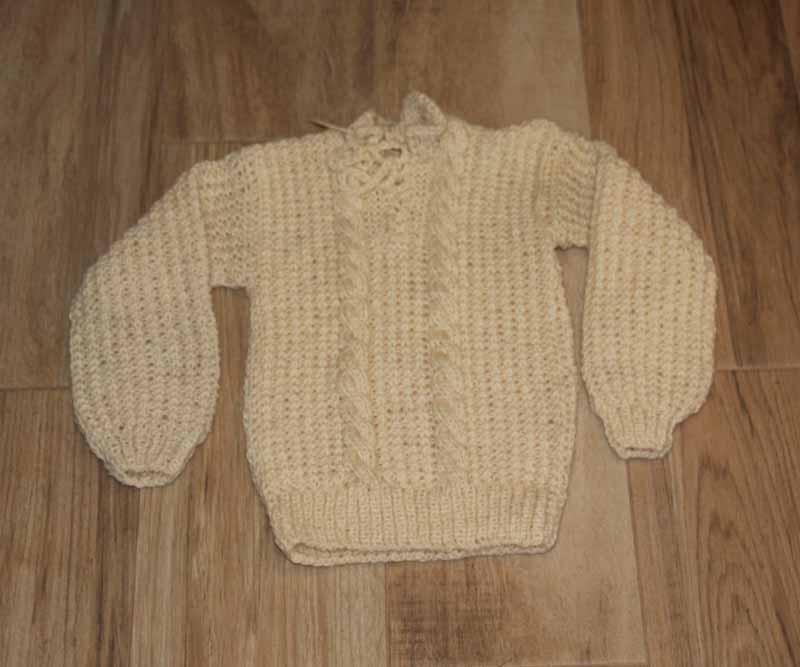 171553ef0c64 Sweter chłopięcy z wełny